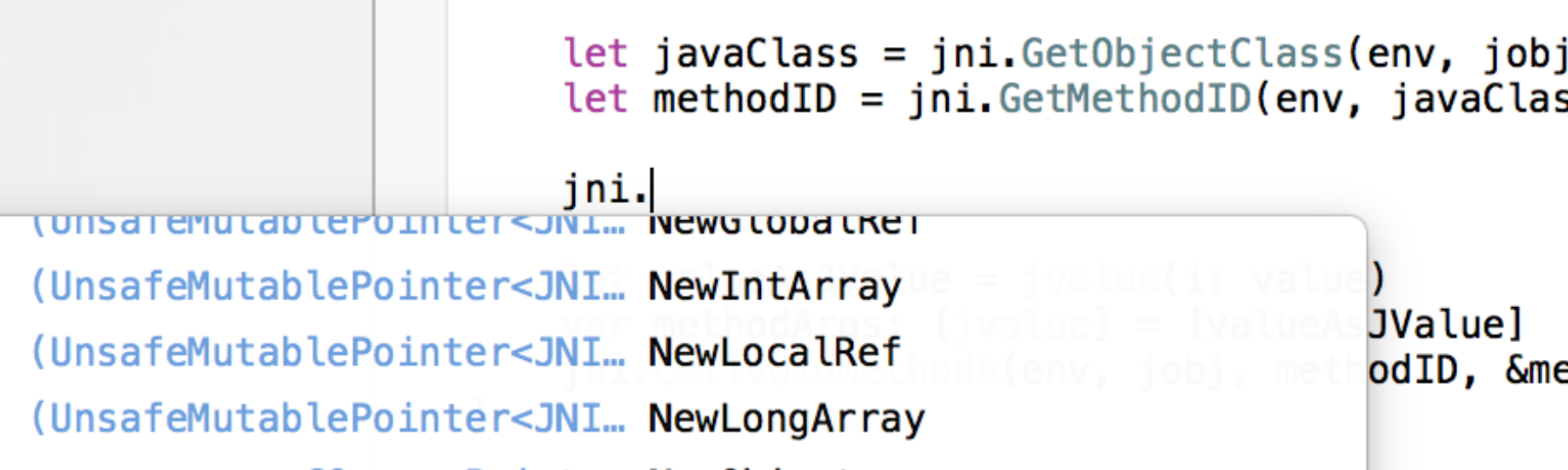 Using JNI in Swift to put an app into the Android Play Store