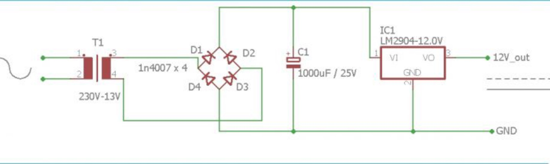 AC TO DC CONVERTER CIRCUIT | 220V TO 12V DC CONVERTER CIRCUIT DIAGRAM | by  Yashwanth Krishna | MediumMedium