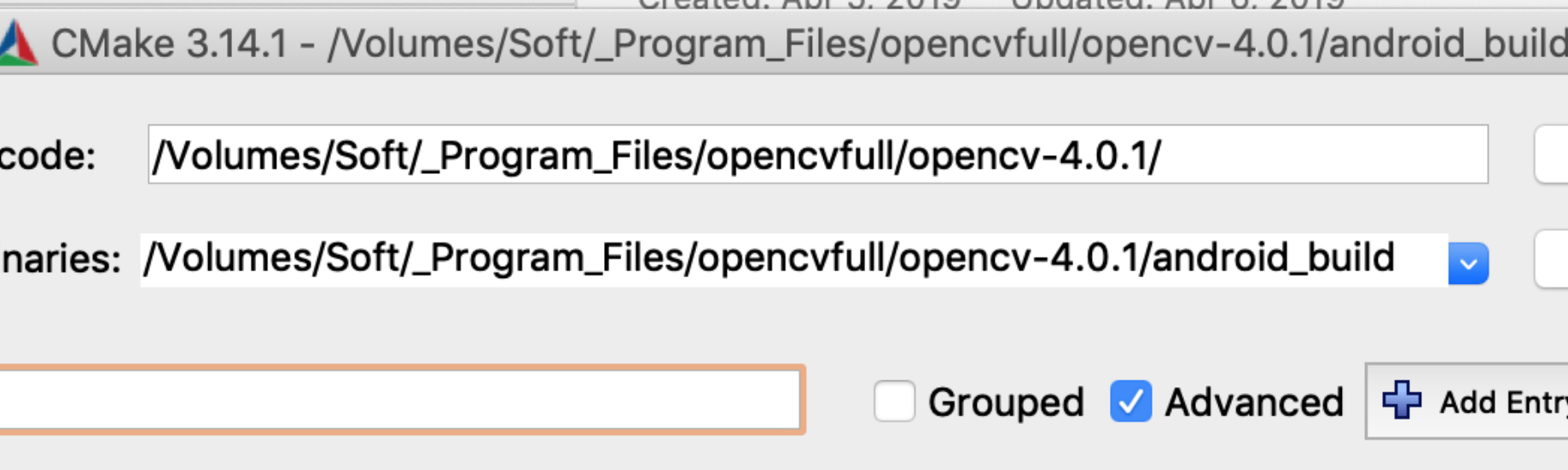 Build opencv4 0 1 & opencv_contrib for Android on macOS