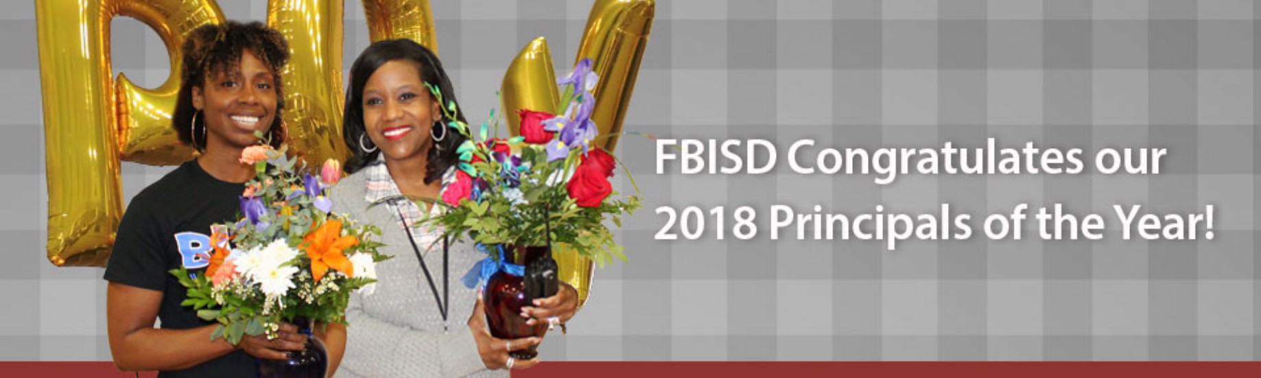 Fort Bend ISD names its 2018 Principals of the Year (2/16/2018)