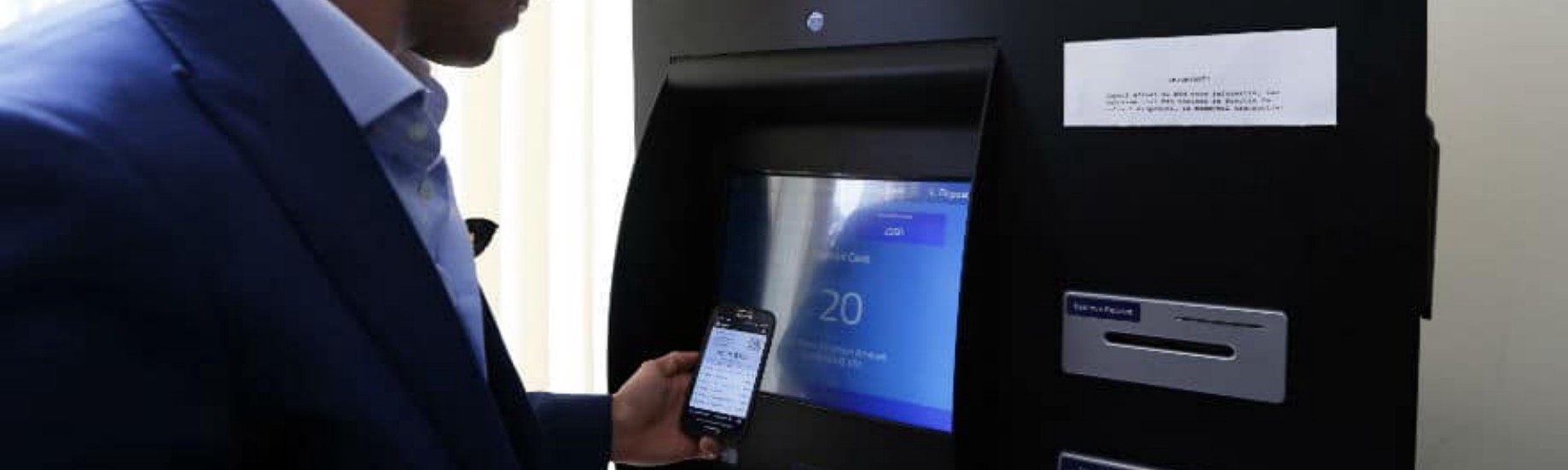 Turn Your Crypto to Cash at Any Bitcoin ATM with the Secure Wallet