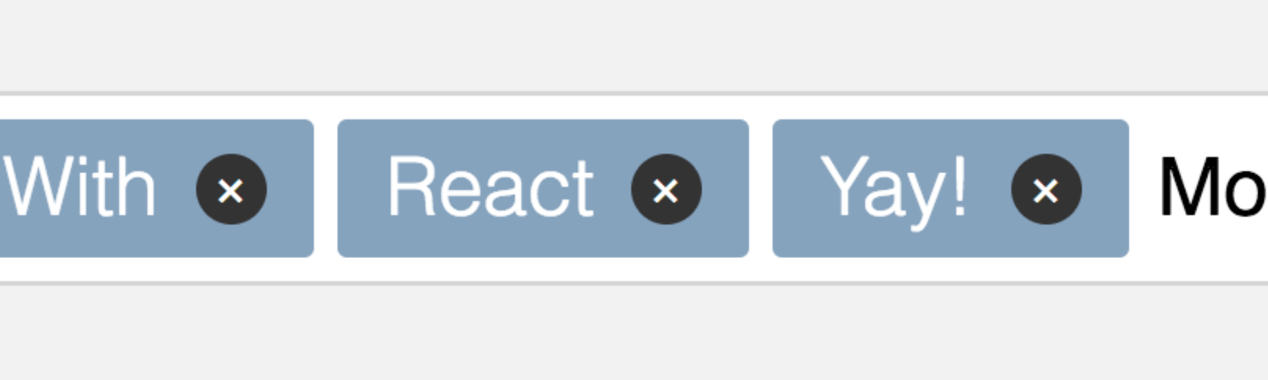Build a Tags Input React Component from Scratch - Jerry Low