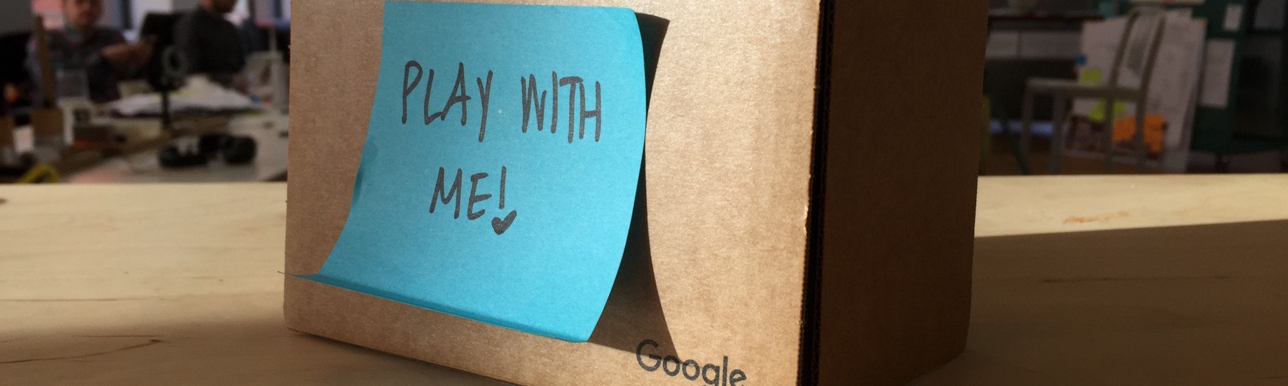 Quick & dirty prototyping with Google Cardboard - Common