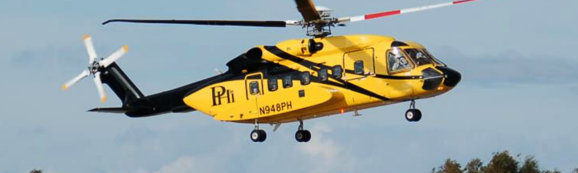 Solving the mystery of the big yellow helicopter flying over D C
