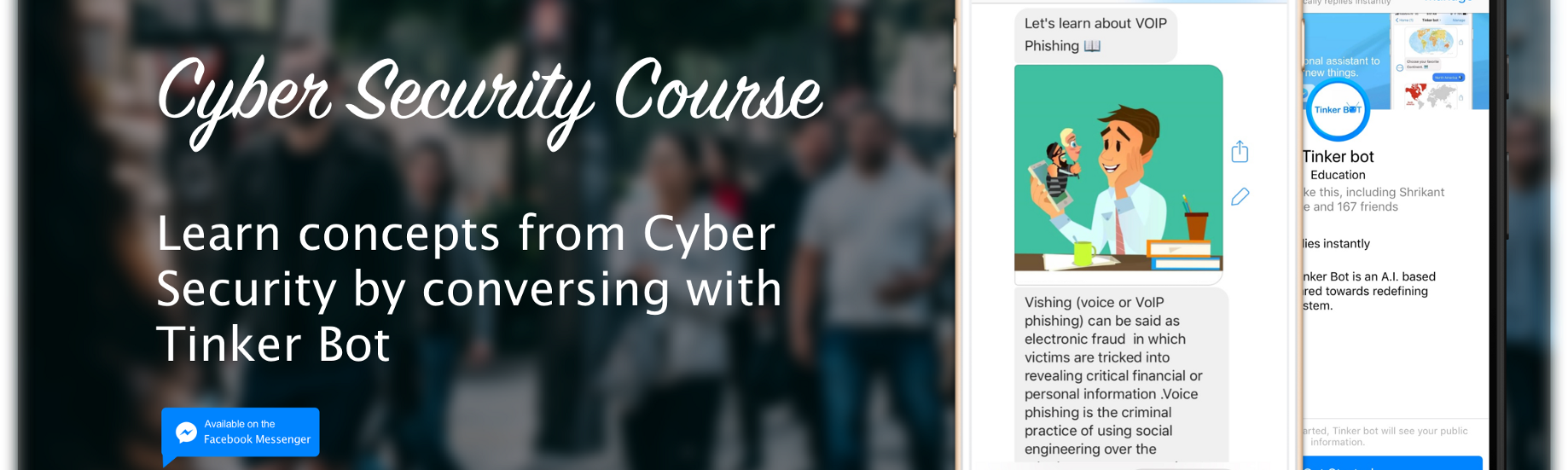 A Brief Overview about Cyber Security Course  - Tinker Bot