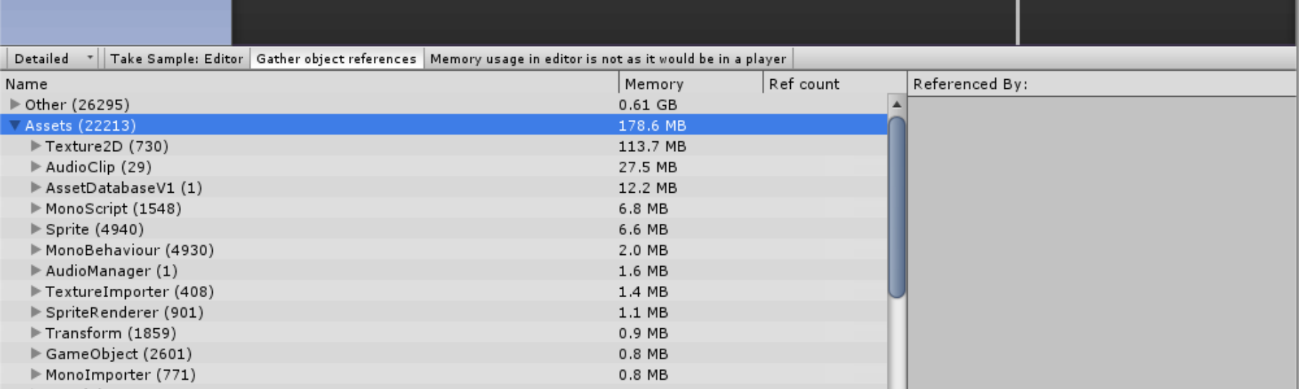 Unity Memory Management: How to manage memory and reduce the