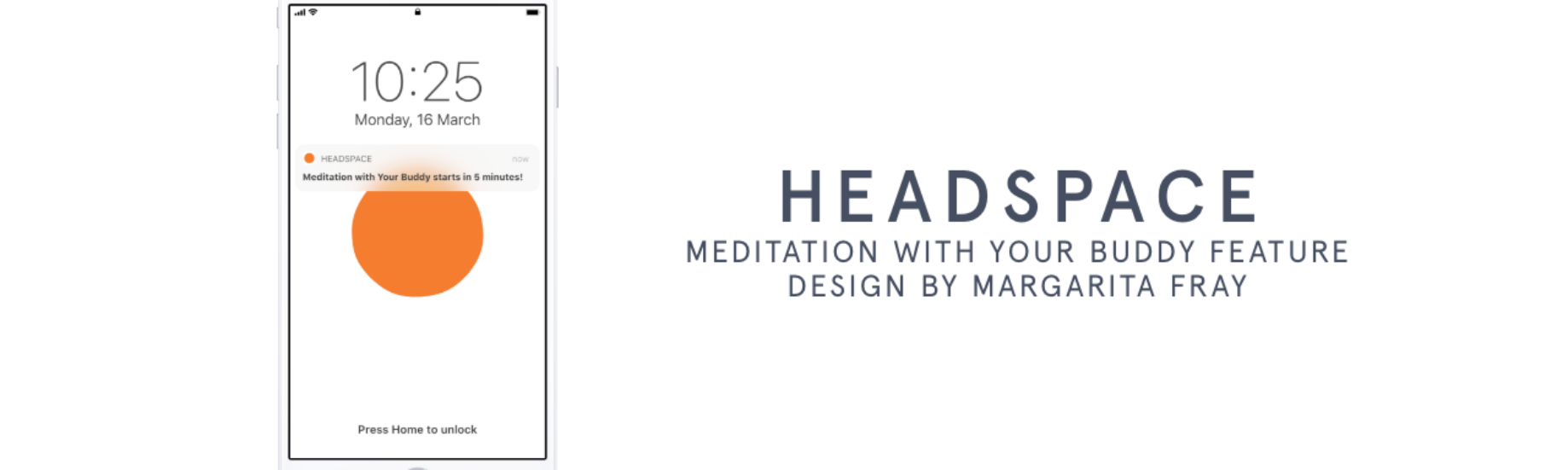 designing a feature for headspace meditation with your buddy by margarita fray medium headspace meditation with your buddy