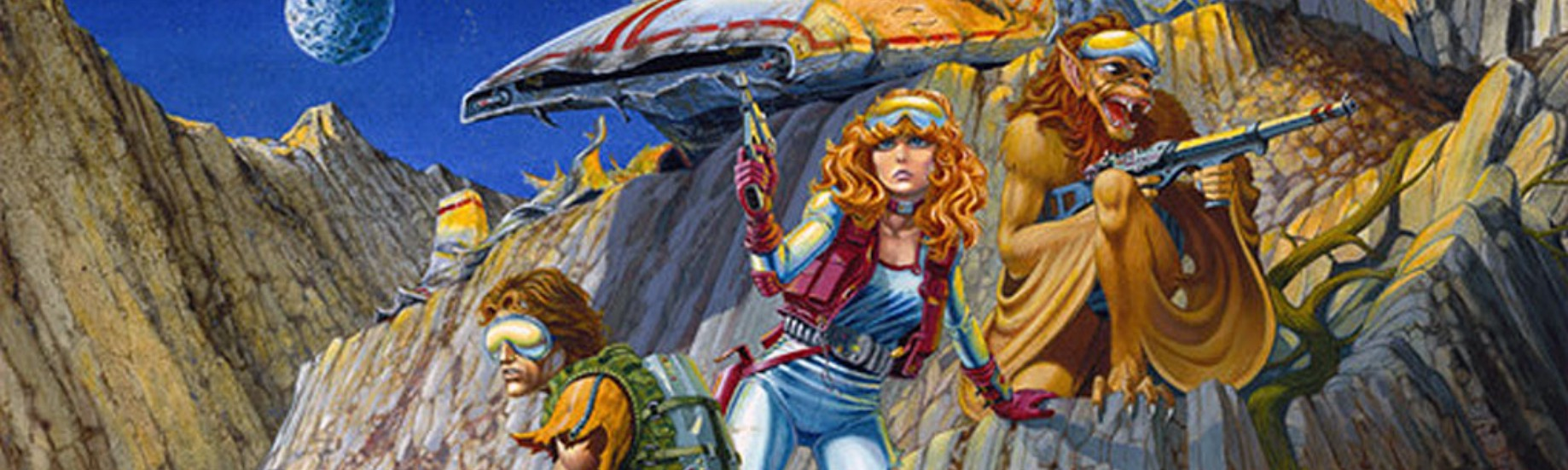 REVIEW] Star Frontiers: D&D's Long Lost Sci-Fi Sibling