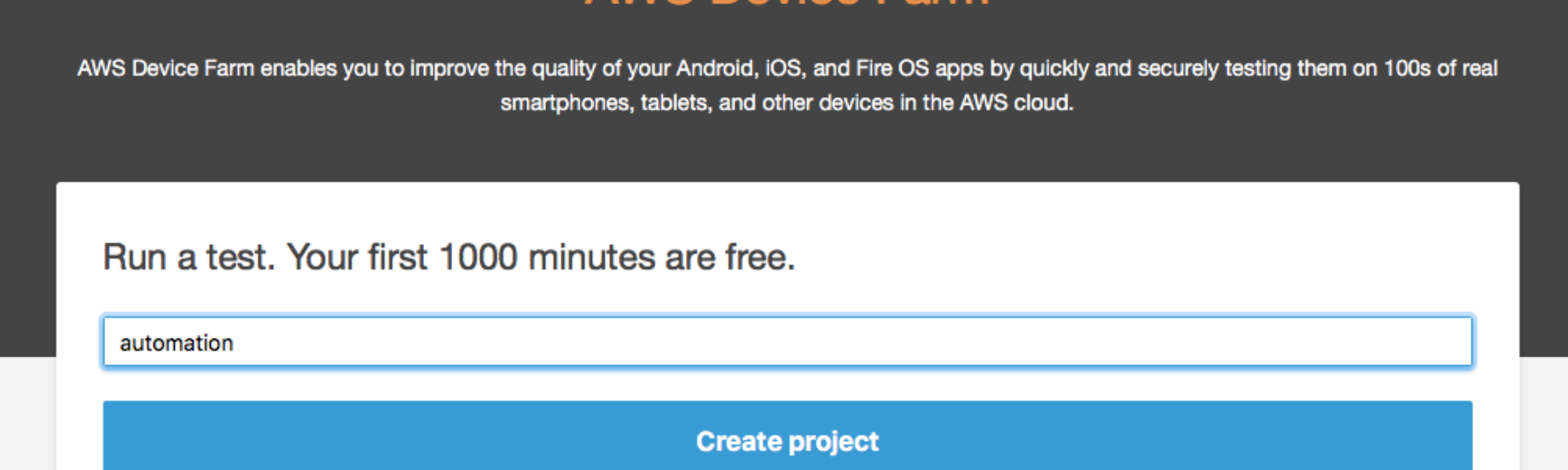 Running Automation Tests on AWS Device Farm using Appium and