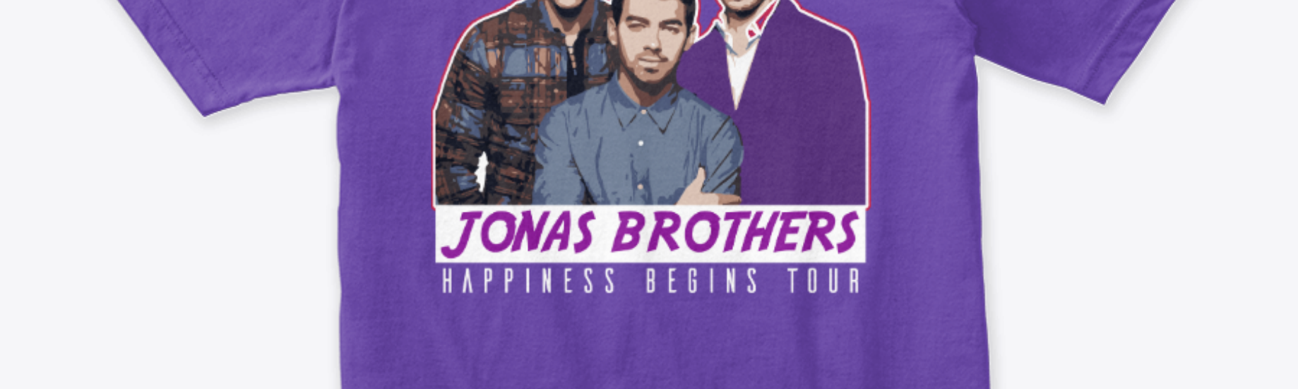 a92b09025 Happiness Begins Tour by Jonas Brothers and Tour Tshirt 2019