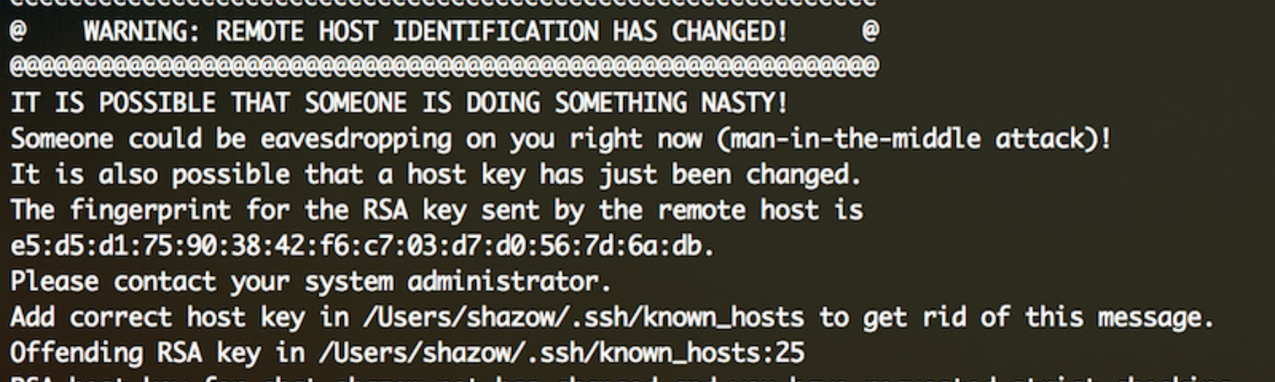 Why aren't we using SSH for everything? - Andrey Petrov - Medium