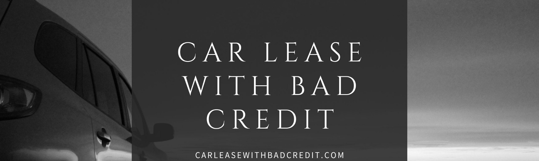 Lease With Bad Credit >> Car Lease With Bad Credit Medium