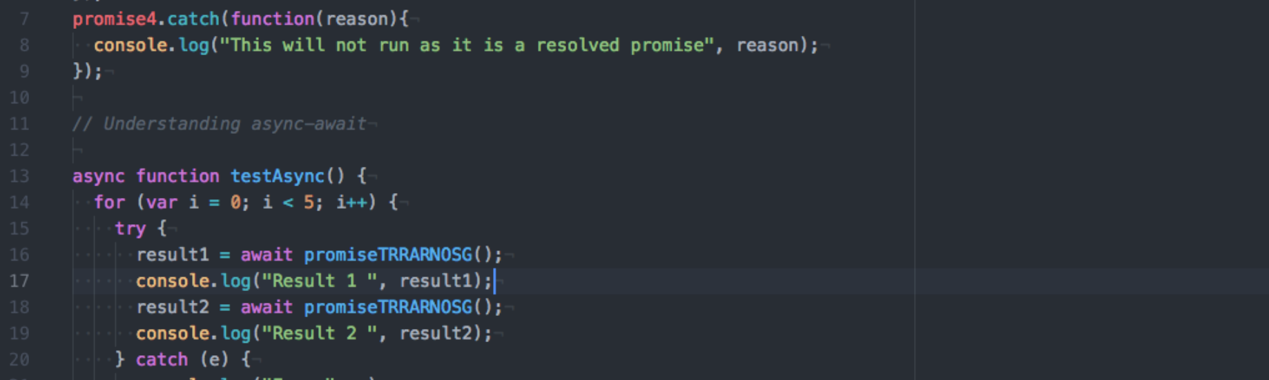 Should I use Promises or Async-Await - By