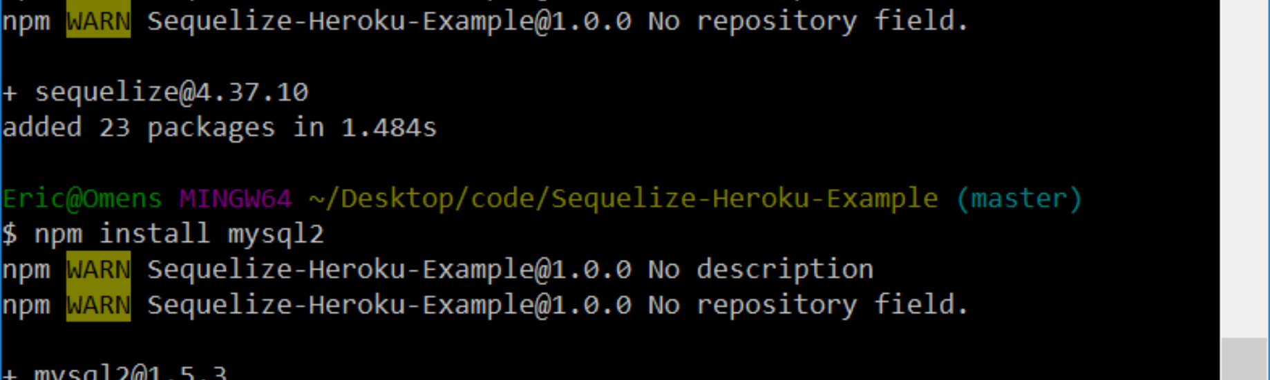 Node Js: Setting up Sequelized for Heroku's JawsDB, while using