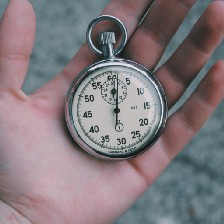 An old-fashioned stopwatch for timing your speed writing sessions
