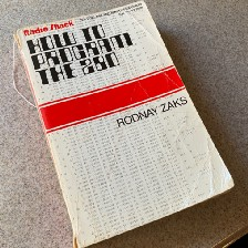 Photo of one of my very old programming book
