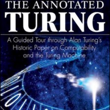 Book cover—The Annotated Turing