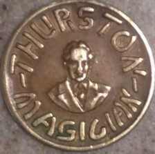Photo of 1929 Thurston Good Luck Token from my personal collection