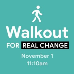 Google Walkout For Real Change