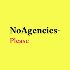 No Agencies Please