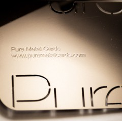 Pure Metal Cards
