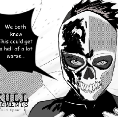 Skull Fragments Comic