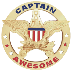 Captain Awesome!!!
