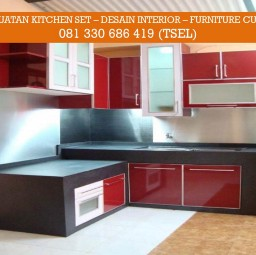 Spesialis Kitchen Set Apartemen Surabaya Medium