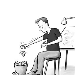 The Frustrated Cartoonist