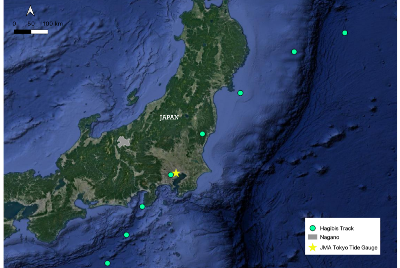 Introducing One Concern's live compound flood forecast pipeline in Japan