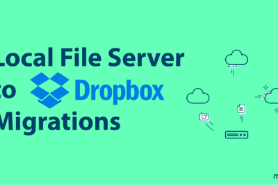 Local File Server to Dropbox migrations