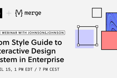 Webinar: From Style Guide to Interactive Design System in Enterprise