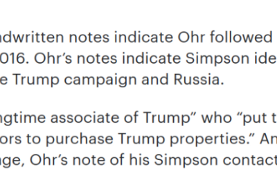 Some of the really interesting things that might get revealed if Felix Sater's testimony before…