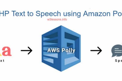 PHP Text to Speech using AWS Polly