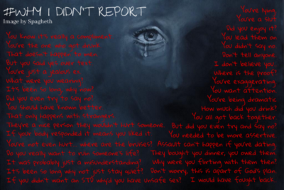 """""""Why didn't you just report?"""""""