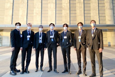 BTS at the 76th United Nations General Assembly