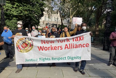 City Hall and Union Clash Over Debt Relief for Cab Drivers