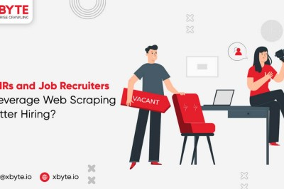 How HRs and Job Recruiters can Leverage Web Scraping for Better Hiring?