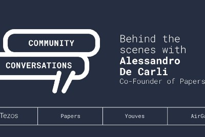 Community Conversations: Behind the Scenes with Alessandro De Carli, Co-Founder of Papers