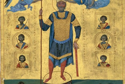 How did the Byzantines view the Ancient Romans?