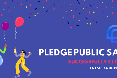 Pledge Public Sale: Successfully Concluded