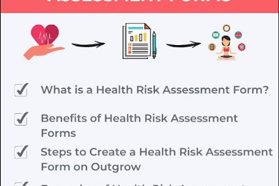 How to Build a Health Risk Assessment Form [+Use Cases]