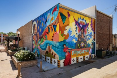 A Culture of Possibility #2: The community murals of Amber Hansen and Reyna Hernandez