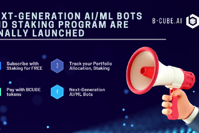 Next-Generation AI/ML Bots and Staking Program Are Finally Launched