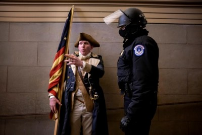 A Damning New Report Finally Explains the Strangest Thing I Saw Inside the Capitol Riot