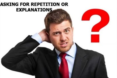 Correction or Continuation: IELTS Speaking
