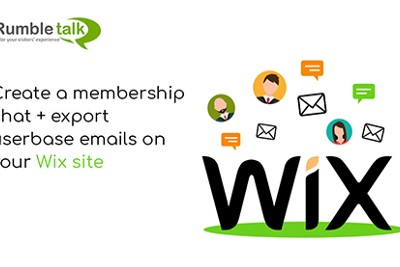 Create a membership chat + export users' list on your Wix site