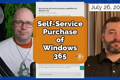 Self-service purchase capabilities for Windows 365