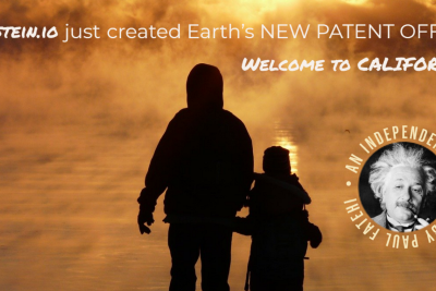 BERNSTEIN.io just created Earth's NEW PATENT OFFICE!!! Welcome to California.