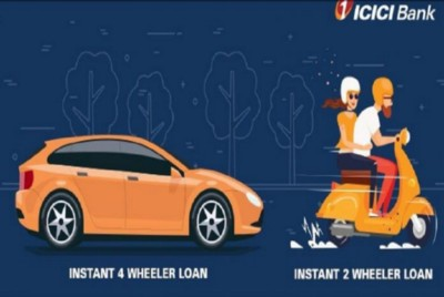 ICICI Bank offers two-wheeler loan EMI at Rs 36 per Rs 1,000 for 3 years
